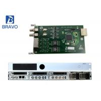 China Audio Video Encoder Serials MPEG - 2  SD / HD  Real Time Transcoder on sale