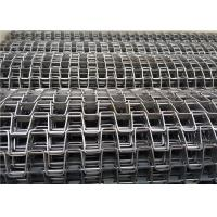 Steady Running Wire Mesh Conveyor Belt Light Weight For Drying Line Manufactures
