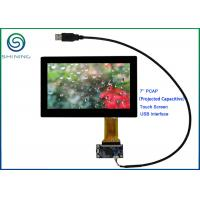 ROHS 7'' USB PCAP Projected Capacitive Smart Home Touch Panel For Appliances Manufactures