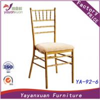 China Aluminum Wedding Chairs customized by Factory (YA-92-6) on sale