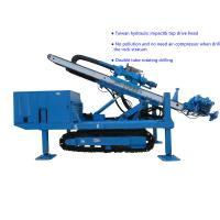 Φ150~Φ250 Hydraulic Impact  80~100 m   Top Drive Anchor Drilling Rig Manufactures