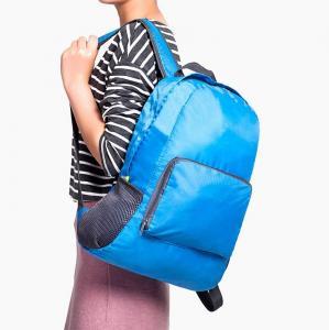 China RTS Waterproof Nylon Light 4 Colours Portable Travel Folding Backpack on sale