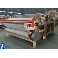 Fully Automatic Sludge Dewatering Belt Press For Oil Refining / Coal Washing Manufactures