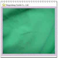 China Green 100% Cotton Pique Fabric on sale