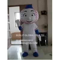 mr met boy mascot costume/customized fur product replicated mascot costume Manufactures