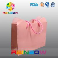 Cardboard Hot Stamping High End Colorful Customized Paper Bags For Shopping Manufactures