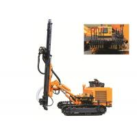 KG410 Dth Drilling Machine Rock Ground Drilling Rig 40 KN Lifting Force For Open Mine Manufactures
