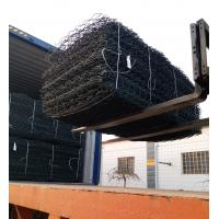 Weather Proof Hot Galvanized Gabion Box / Stone Cages For Landscape Project Manufactures