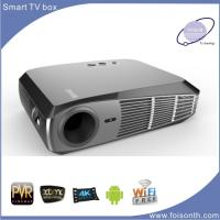 Foisontech Hot Selling LED Projector of Android 4.4 1500 Lumens Smart Project Manufactures