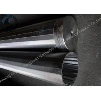 Strong Structure Welded Wedge Wire Screen With Center Circular Hole Manufactures