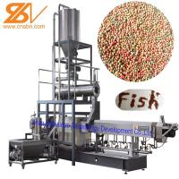 Fish Food Processing Equipment Floating And Sinking 58-380 KW Power Manufactures