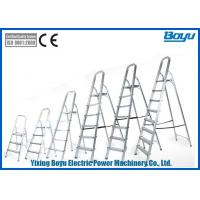 China Light Weight Transmission Line Tool Multi - Purpose Ladder Rated Load 150kg on sale