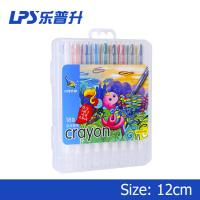 Multicolor Staples Twist Up Crayons For Children Painting 18 Colors Manufactures