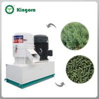 Buy cheap Good performance flat die wood pellet machine from wholesalers