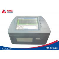 Benchtop Bottle Liquid Scanner Explosive Detection System ZAD1000 Visual Alarm Manufactures