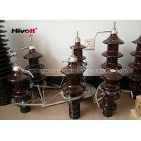 DIN Standard Oil Type High Voltage Transformer Bushings With Arcing Horn Manufactures