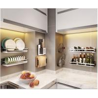 Non Extendable Wire Racks For Kitchen Cabinets , Corner Kitchen Rack With Rollers Manufactures