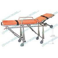 Emergency stainless steel ambulance foldable stretcher for hospital , Clinic , Medical Manufactures