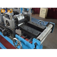 China 5.5KW Main Motor Power  Shutter Door Roll Forming Machine Automatic PLC Control System on sale