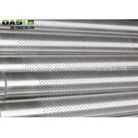 API Standard 5CT perforated pipes casing and tubing for oil/water well drill Manufactures