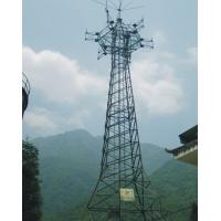 Steel Structure Construction Self Support Tower Telecommunication Tower Types 15 M ~ 30 M Manufactures