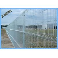 Galvanized Wire Mesh 3D Security Curved Metal Fence Flexible And Durable PVC Coated Manufactures