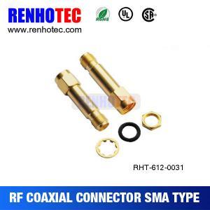 China Waterproof SMA Jack To Reverse SMA Plug Connector on sale