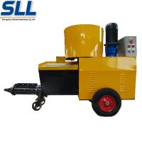 High Efficiency Wall Cement Plaster Machine 380V / 7.5kW 12 Months Guarantee Manufactures