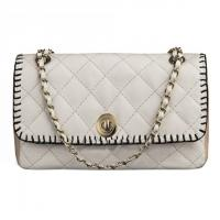 China Fashion embroidery leather cross body bag white chain bag CL7-099 on sale