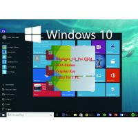 Buy cheap Microsoft Operating System COA License Sticker / Windows 10 Pro OEM 100% Original from wholesalers