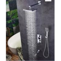China Digital Display Shower Head And Faucet , 8.5*10.5cm Size Shower Head And Handle Set on sale