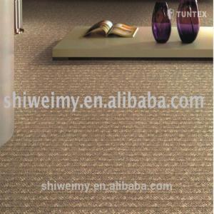 Comfortable plain level loop pp Shanghai floor carpet Manufactures