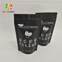 China Resealable Foil Pouch Packaging Stand Up Body Sugar Scrub Sea Salt Bags Heat Seal on sale