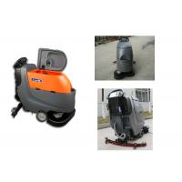 Automatic Commercial Floor Scrubber Cleaner Machine Battery Operated Manual Push Manufactures