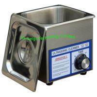 China Stainless Steel Bench-Top Mechanical Ultrasonic Cleaner 40KHz With CE / ROHS on sale