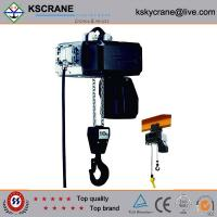Attractive and reasonable price Low Clearance Double Speed Electric Chain Hoist Manufactures
