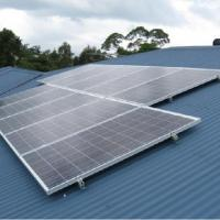 Reliable Structure Metal Roof Solar Mounting Systems With Simple Short Rails Manufactures