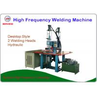 Quality High Frequency Hydraulic Double Head Welding Machine For Leather / Plastic Sheet Emboss for sale