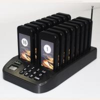 Quality 2020 new product 1 base 16 pager wireless guest paging system for sale
