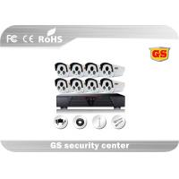 Bullet Type Camera Weatherproof CCTV 8 Channel DVR Kit 1280 X 720 Recording Manufactures