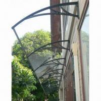 Aluminum Awning, Eco-friendly, Easy to Install, TUV-approved Manufactures