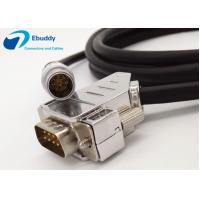 Lemo 8pin to DB9 Custom Power Cables Lemo FGG.1B.308 male cable for topcon total station Manufactures
