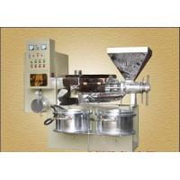 China Sesame Seed Production With Long Life 200 - 400kg / h Rice Bran Oil Machine on sale
