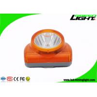 13000lux LED Mining Light IP 68 Waterproof Grade With USB Charging Manufactures