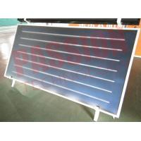 China 2 Sqm Flat Panel Solar Collector , Tempered Glass Solar Energy Collectors For Heating on sale