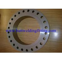 Steet Flanges, Duplex Material, A182 F51 A182 F60 F53 (UNS S32750) B16.5 Manufactures