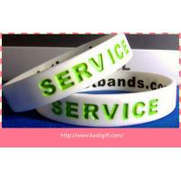 Most popular  silicone bracelets custom silicone arm band Manufactures