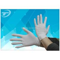 Comfortable Feeling Medical Disposable Gloves With Anatomic Shape 6 - 9 Size Manufactures