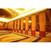 China Sound Proof Aluminum Movable Restaurant Wall Partitions 85mm Thickness on sale