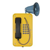 Quality Colorful Heavy Duty Industrial Weatherproof Telephone , SOS Outdoor Emergency Phone for sale
